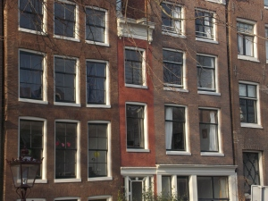 The most narrow house in Amsterdam